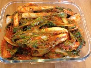얼갈이배추김치 Spring Korean cabbage kimchi