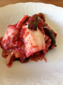 'pink' Kimchi made of fresh beetroot and cabbage- proudly made in Brighton